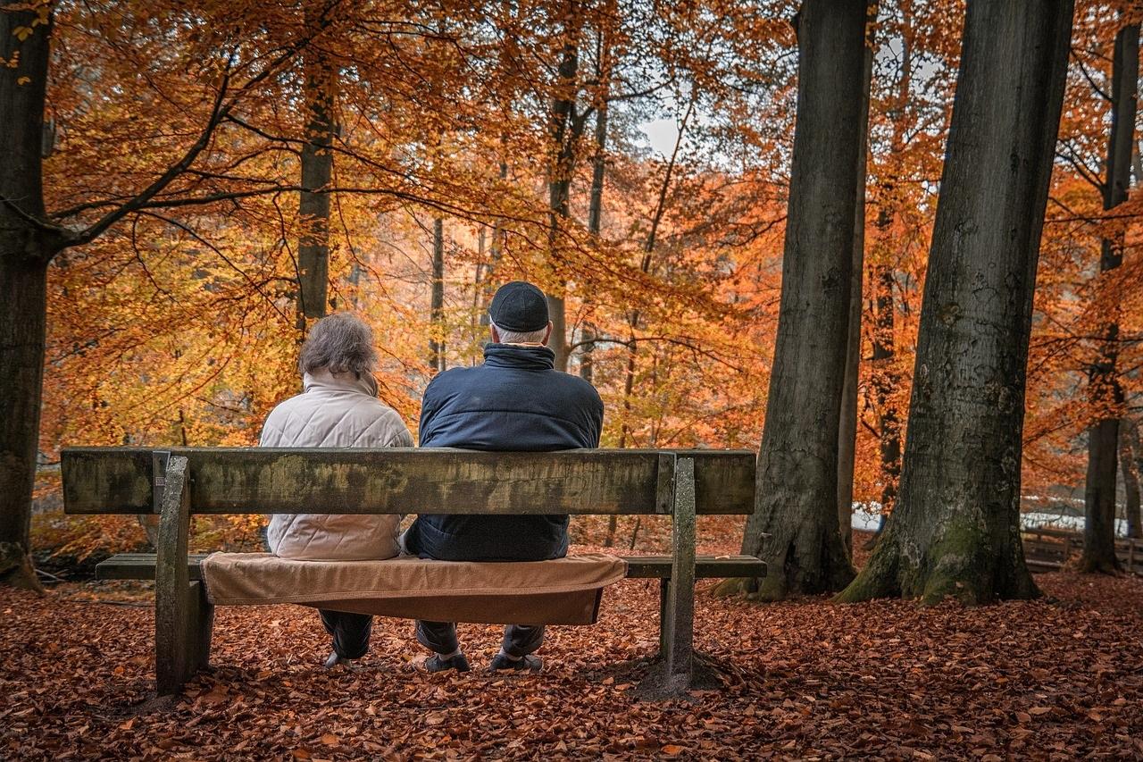 Gute Orte für Dates mit älteren Menschen.