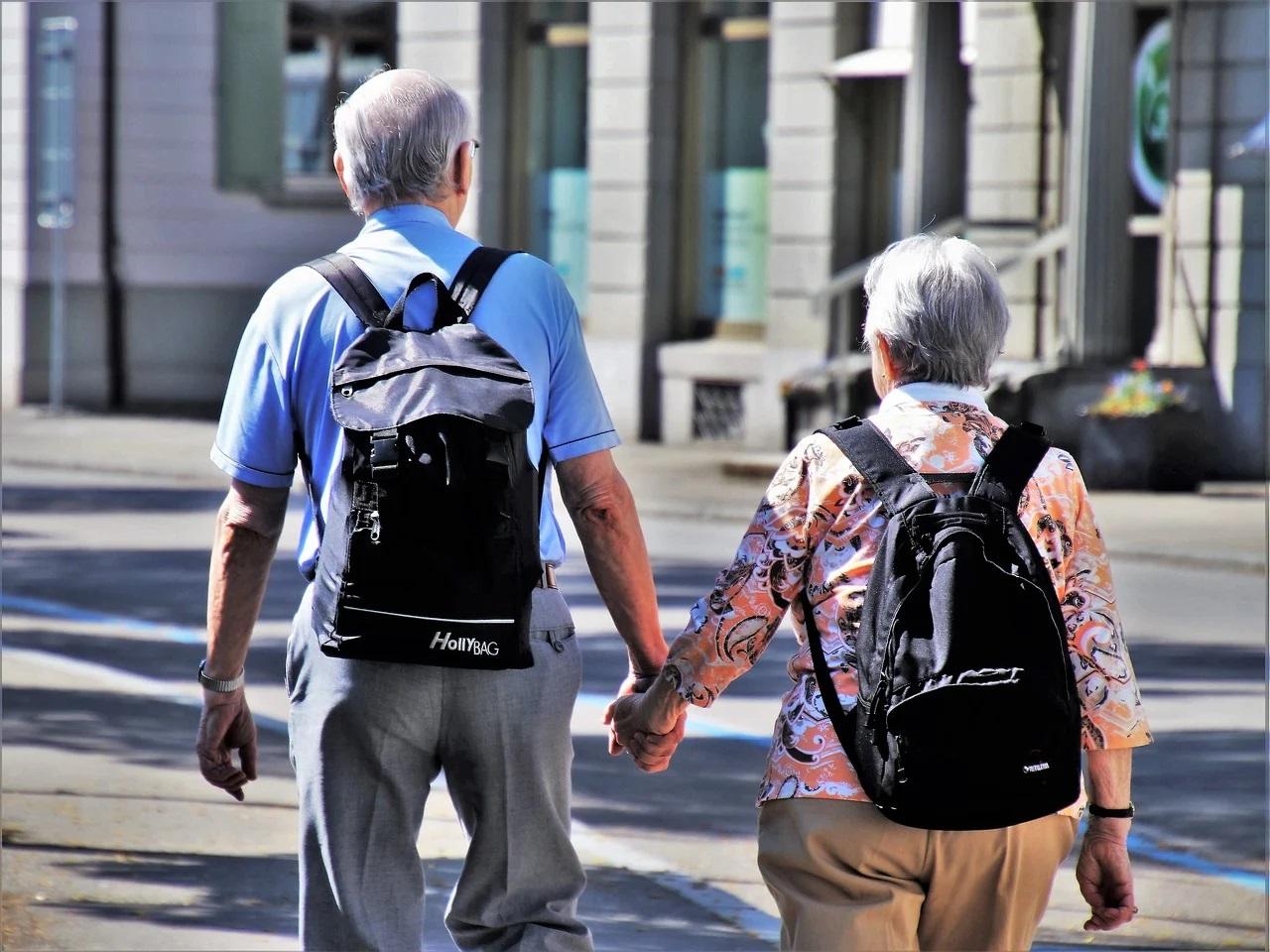 Senioren und Rentner